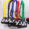 bodybuilding Tubes Pull Rope with Protective Nylon Sleeves fitness equipment  Comprehensive Fitness Exercise  Pull Rope