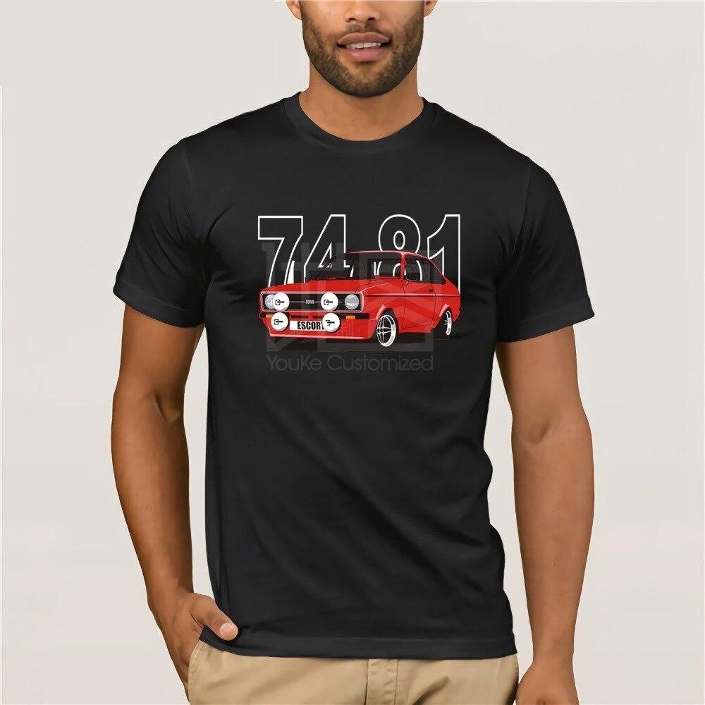 Escort MK 2 Retro Style Kids Car T-Shirt