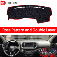 Rose Pattern For Kia KX3 2015 2016 2017 2018 2019 Cover Car Stickers Car Decoration Car Accessories Interior Car Decals
