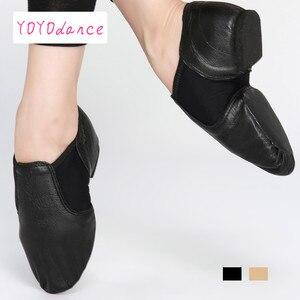 Image 3 - أحذية جاز جديدة موديل 2020 أحذية للرقص والرقص للسيدات باللون الأسود والبالغين والأطفال أحذية جاز للسيدات