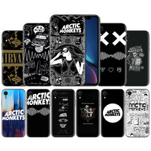 ARCTIC MONKEYS Rock Roll Patroon TPU Soft Silicone Case Cover voor iPhone X XS XR XS 11 11Pro Max 7 8 6 6S 5 5S 5C SE Plus Case(China)