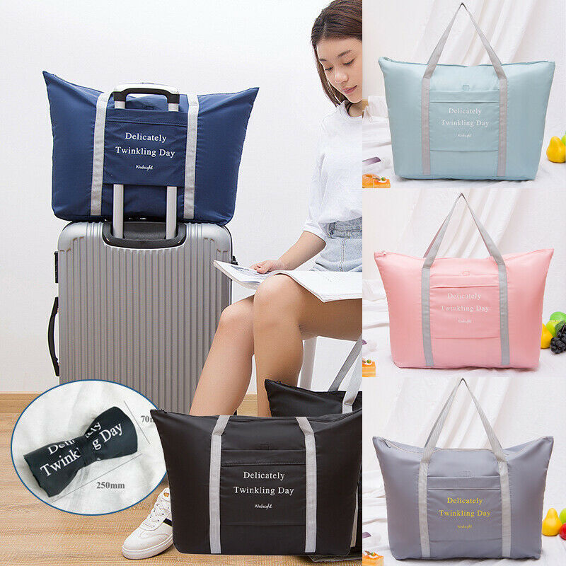 2019 New Travel Portable Waterproof Folding Storage Bag Shoes Clothes Luggage Bags Casual