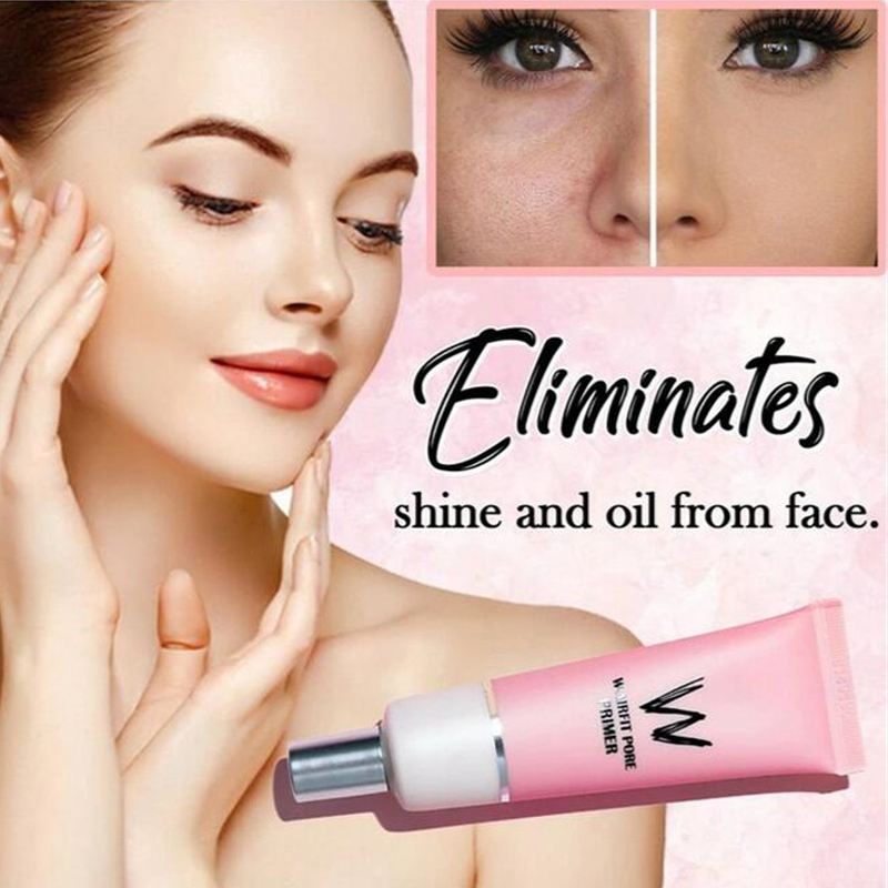W-Airfit Pore Clearing Primer Makeup Face Brighten Smooth Skin Invisible Pores Concealer