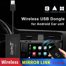 Carlinkit Carplay A3 Wireless for Apple Adaptador Android Auto Dongle Car Play Iphone USB WIFI Bluetoot MIMI Mirror Link