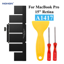Nohon Laptop Battery For A1417 Apple MacBook Pro 15\