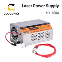 Cloudray 80 100W 80W HY Es80 CO2 Laser Power Supply for CO2 Laser Engraving Cutting Machine Es Series