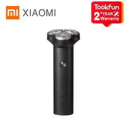 2020 XIAOMI MIJIA Electric Shaver S300 Portable Flex Razor 3 Head Shaving IPX7 waterproof Washable Beard Trimmer trimer Cutter