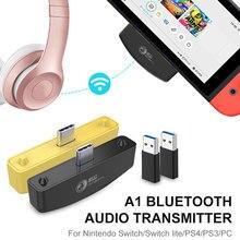 Transmetteur Audio sans fil Bluetooth, adaptateur USB, pour jeu, pour NS Switch Lite, PS4, PS3, casque découte