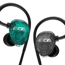 Cca Csa In Ear Oortelefoon Running Hifi Sport Headset Oordopjes 3.5Mm Met Microfoon C12 CA4 A10 CA16 Edx m10
