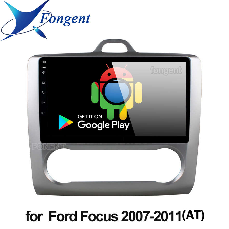 Für Ford Focus 2 Mk 2 2004-2011 Auto Radio Multimedia Video Player Navigation GPS Android 9,0 Keine 2din 2 din dvd Stereo Audio PC