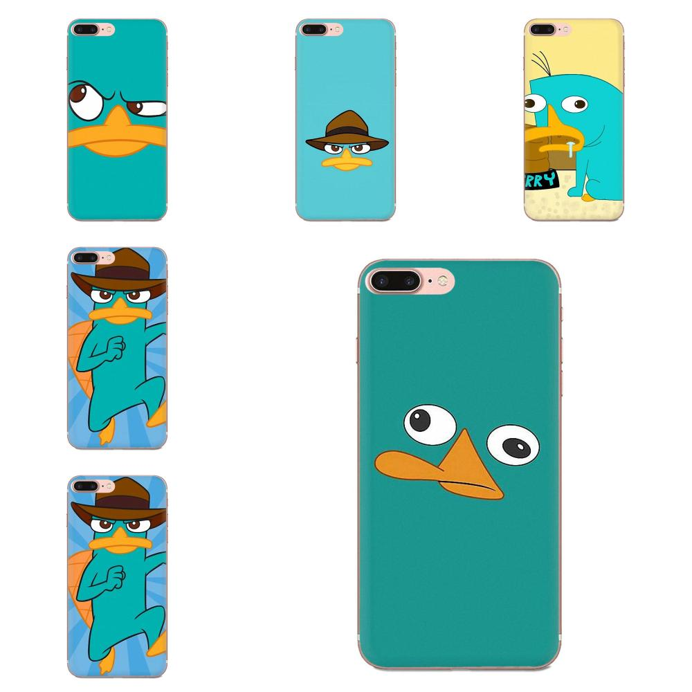 Perry The Platypus For <font><b>Samsung</b></font> Galaxy A51 A71 A81 A90 5G A91 A01 S11 S11E S20 Plus Ultra High Quality Classic Soft Phone <font><b>Case</b></font> image