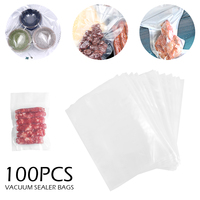100pics/lot Vacuum Bags 22*30CM Kitchen Appliances Vacuum Sealer Packing Machine Food Bag Food Storage Film