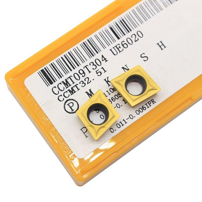 Купить с кэшбэком SCLCR1212H09 SCLCR1616H09 SCLCR2020K09 Turning Tool Holder CCMT09T304 UE6020 CNC Lathe External Carbide Inserts turning knife
