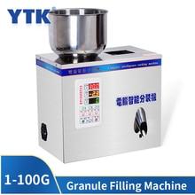 Machine de remplissage pour granulés, appareil de pesage, pour thé et poudre, 1 à 100G