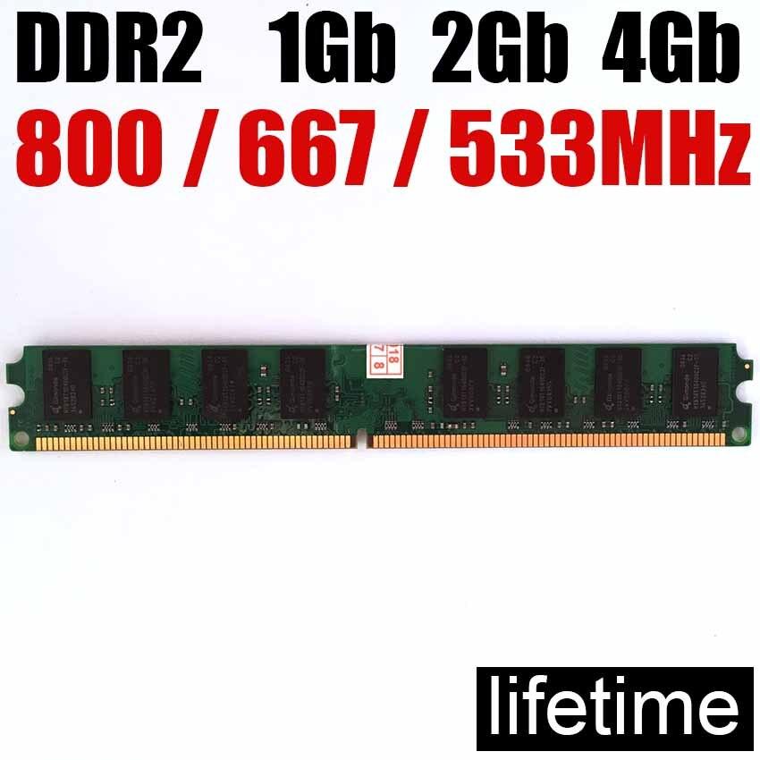 Speicher RAM 4Gb DDR2 8 Gb 800Mhz 667Mhz 533 Mhz/8G 4G ddr 2 8 Gb 533 667 800 ddr2 4gb desktop-Speicher-lebenslange garantie