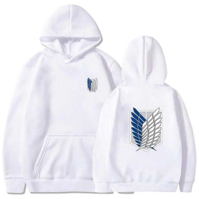 Attack on Titan Hoodie Men Fashion Loose Pullovers Casaul Tops oversize hoodie sweatshirt women Regular pullover hoodies 3