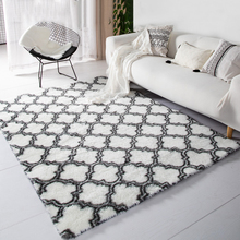 цена на Carpet Fluffy Rugs Decoration Carpets for Living Room Mat Grid Floor tapetes Area Rug Large Rugs and Carpets Area Rug Shaggy D30
