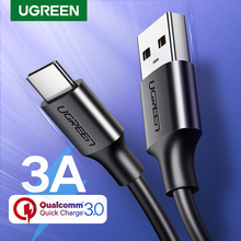 Ugreen USB Type C Charger Cable for Redmi note 8 Samsung Quick Charge 3 0 USB