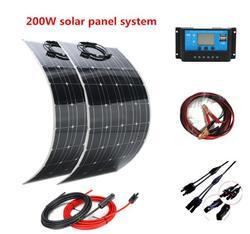200w zasilanie panelem słonecznym układ generacyjny  aby dostarczyć energię elektryczną do elektryczna sieć domowa