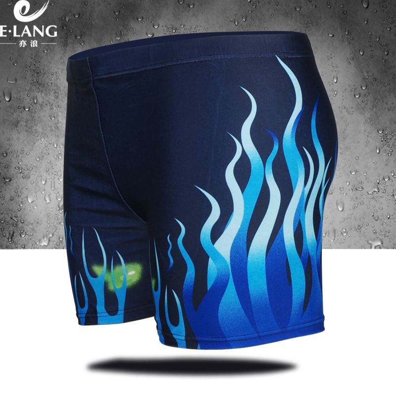 2016 New Style Men's AussieBum Digital Printing Men Fashion Sexy Low-Rise Plus-sized Boxers