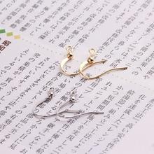 50pcs hot gold plating color preservation simple ball ear hook diy handmade ear hook ear accessories