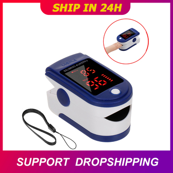 Finger Oximeter Digital Fingertip Pulse Oximeter Blood Oxygen Saturation Meter Finger SPO2 PR Heart Rate Monitor Health Care image