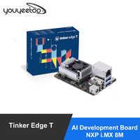 ASUS Tinker borde T AI desarrollo NXP me MX 8M Google borde TPU 4TOPS optimizado para TensorFlow Lite 1GLPDDR4 + 8GeMMC