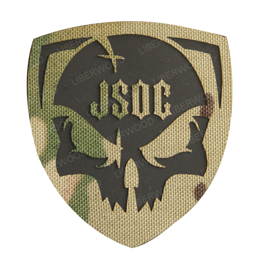 JSOC patch U.S. joint special operations command Infrared Reflective IR Patch Military Applique for Tactical Vest, Uniforms(China)