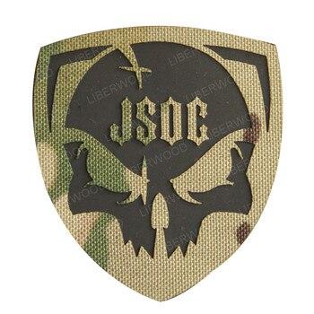 Parche de JSOC para el Mando Conjunto de Operaciones Especiales de Estados Unidos parche infrarrojo reflectante IR aplicación militar para chaleco táctico, uniformes