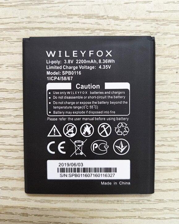 High Quality SPB0116 Battery For Wileyfox Spark / Spark+ SPB0116 Phone Battery 3.8v 2200mAh