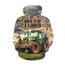 Tessffel работник фермерский трактор пуловер уличная harajuku