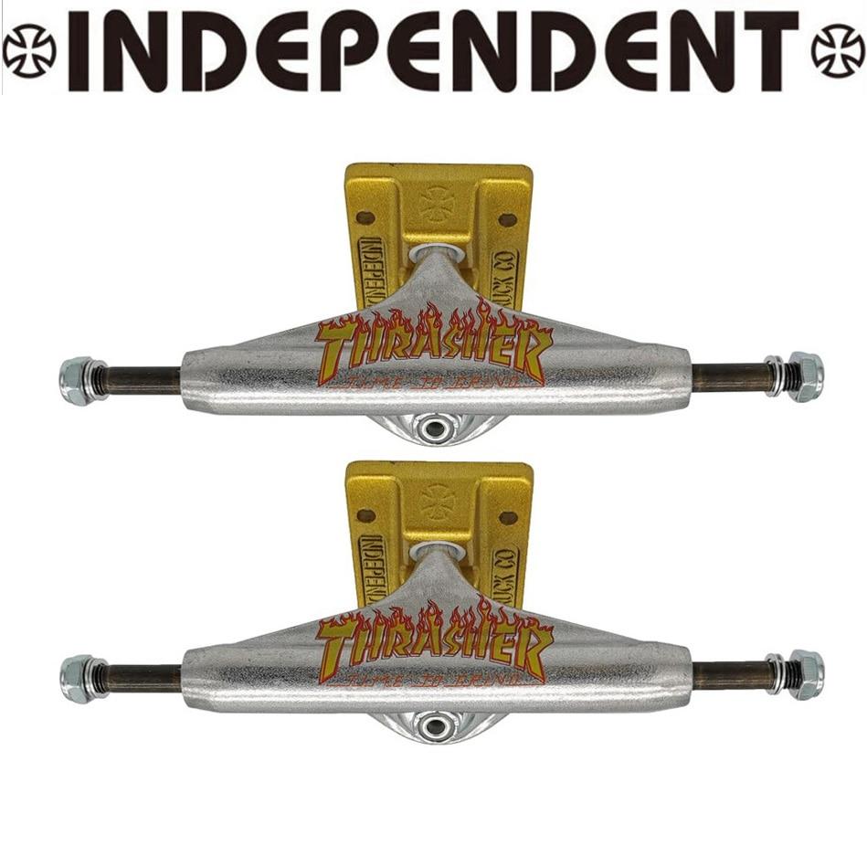 136mm 145mm 149mm Independent Skateboard Trucks Good Quality Aluminum Alloy Truck Carbon Steel Hollow Kingpin Skate Trucks