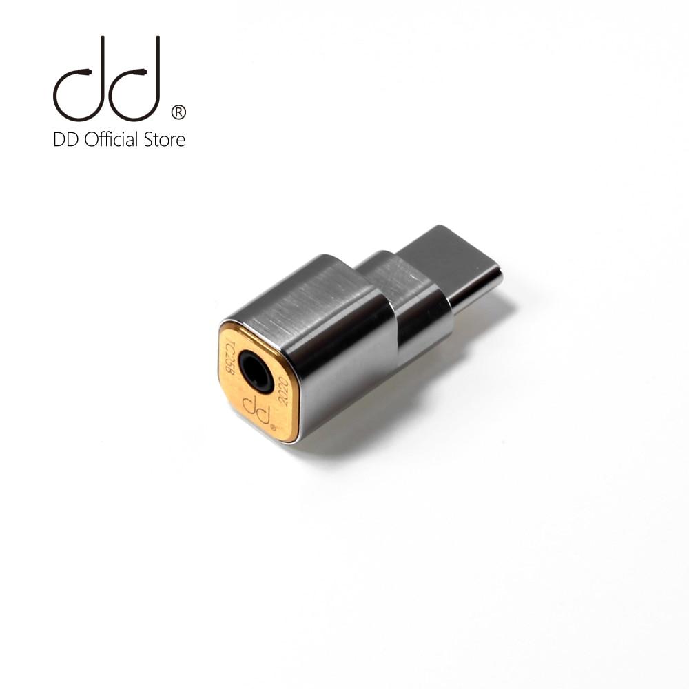 DD ddHiFi TC25B USB-C TypeC adattatore per cuffie Jack da 2.5mm per smartphone Android, che supporta fino a 384kHz/32bit
