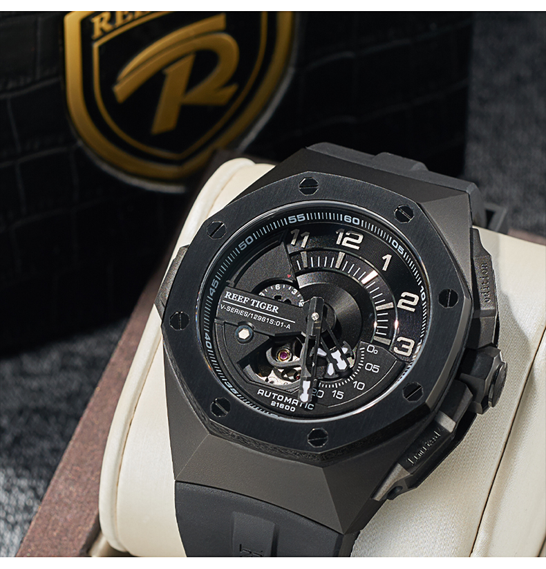 Reloj mecánico Reef Tiger