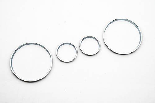 Chrome Snelheidsmeter Gauge Dial Ring Instrument Panel Ring Fit Voor Voor Bmw E39 M5 M 5 Serie E38 E53 X 5