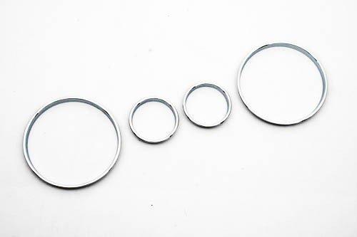 Chrome Snelheidsmeter Gauge Dial Ring Instrument Panel Ring Fit Voor Voor Bmw E39 M5 M 5 Serie E38 E53 X 5