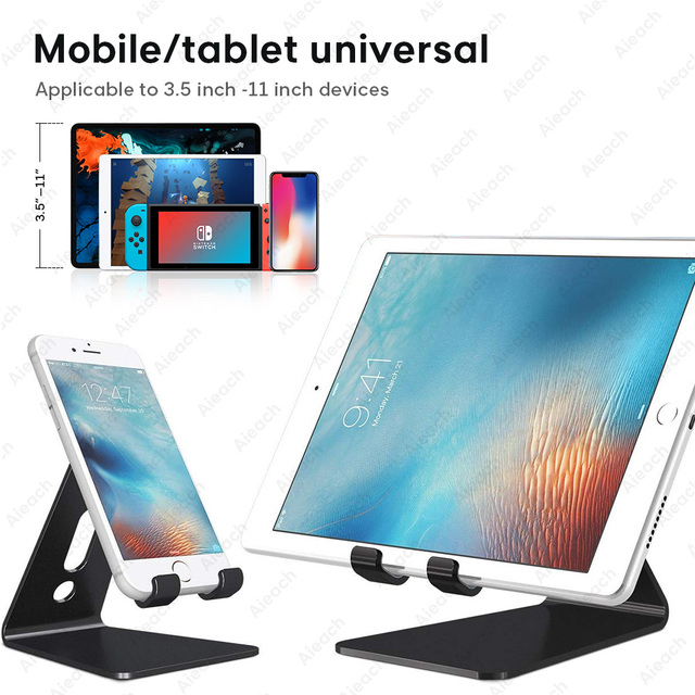 Universal Tablet Desktop Stand For iPad 7.9 9.7 10.5 11 inch Metal Rotation Tablet Holder For Samsung Xiaomi Huawei Phone Tablet 5