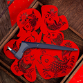 DIY Art Cutting Tool, Craft Cutting Kinfe with 360° Steel Rotating Blade Safety Cutter Paper Knife Accessories