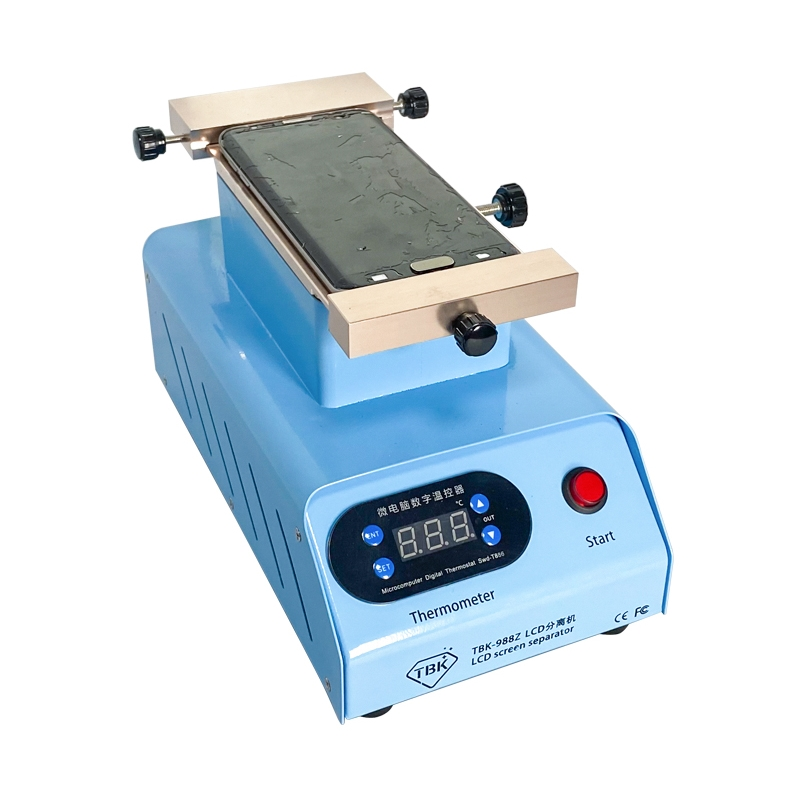 Machine Touch Vacuum Max 988Z 7 With 988C Screen Flat Remove Inches Pumps Separator Edge LCD Double TBK Function Clean Rotary