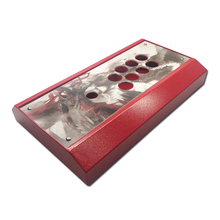 Cdragon DIY Clear  Arcade Joystick Replacement Metal Panel Case Handle Arcade Game Kit Sturdy Construction Easy to Install