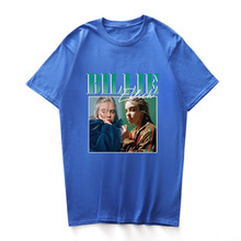 3D Print Billie Eilish Summer Tshirts Womens Male Fashion Style Crew Neck Clothing Hot Sale