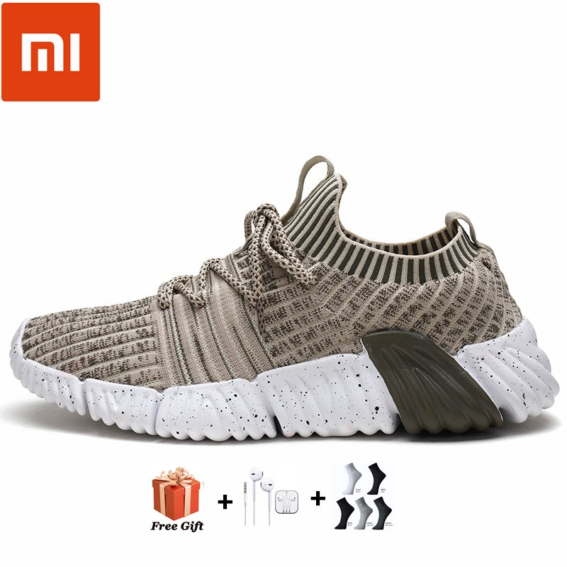 Xiaomi running sneaker 4 2021 new spring and autumn running shoes breathable woven running shoes large: 39 46