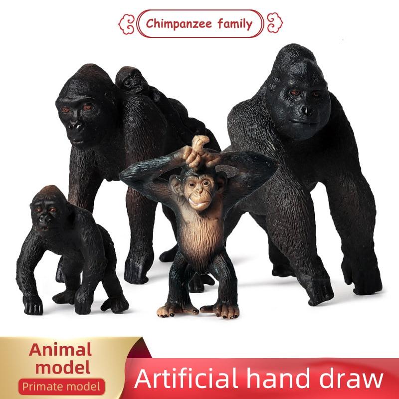 Big Size 35cm King Kong Skull lsland Gorilla Monkey Figure Model Toys
