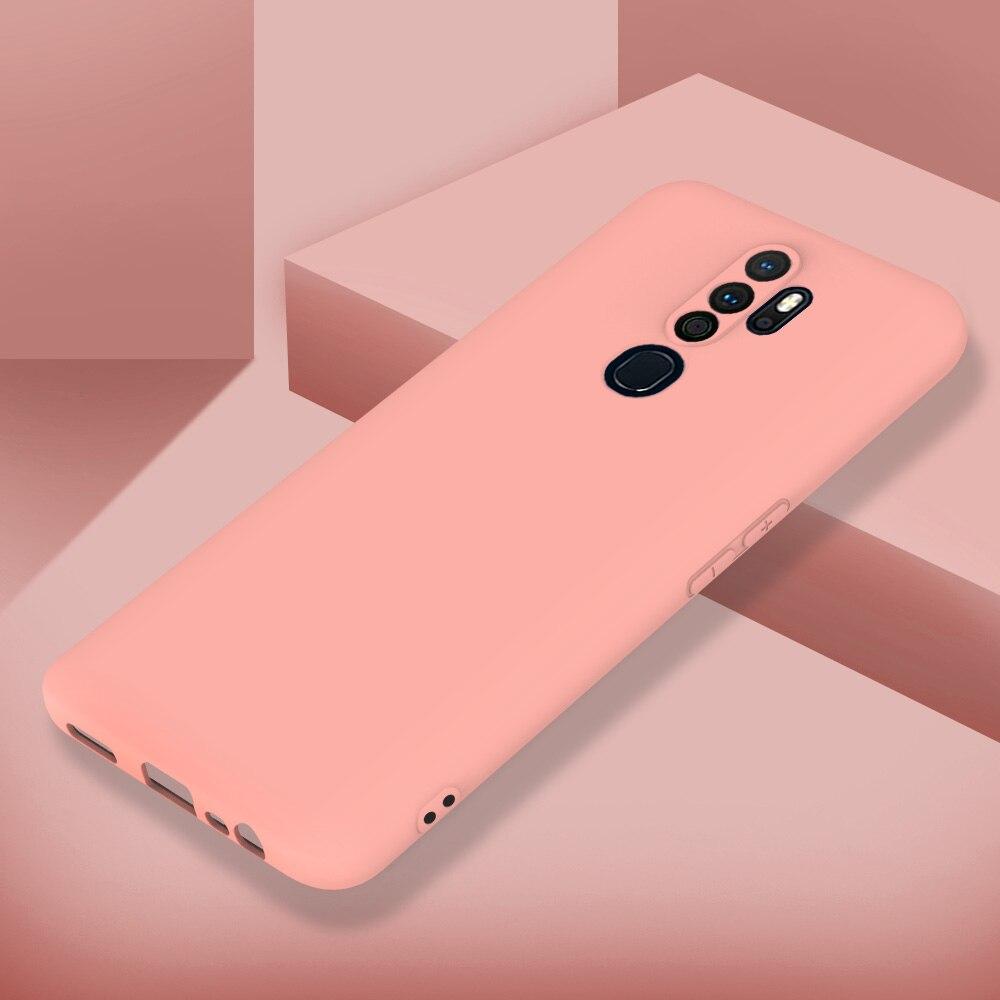 Тонкий матовый чехол для Oppo F11 Realme Q 5S 5 X2 Pro Reno 2Z 2F Ace 2 A9X A11 A11X A9 A5 2020 2019, чехол накладка из силикона|Специальные чехлы|   | АлиЭкспресс