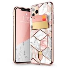 """I BLASON Cho iPhone 11 Pro 5.8 Inch (Phát Hành Năm 2019) cosmo Ví Mỏng Thiết Kế Ví Ốp Lưng Trong Cho iPhone 11 Pro 5.8"""""""