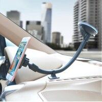 Universal teléfono celular Smartphone soporte de coche parabrisas largo brazo soporte de soporte móvil teléfono soporte imantado