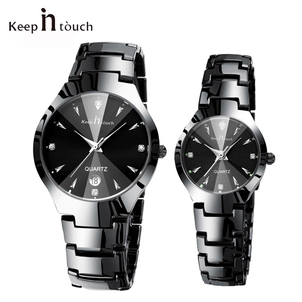Top Brand Luxury Lover Watch Pair Waterproof Men Women Couples Watches Quartz Wristwatch Male Female Bracelet Relogio Masculino