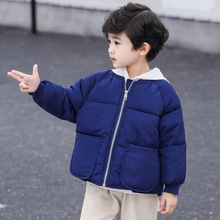Baby Boy Girl Jacket Coat Baby Clothes Girls Boys Coat Big pocket Windbreaker Children Down Coat Spring Autumn Kids Outerwear цены онлайн