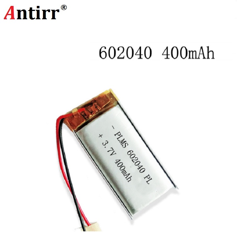 3.7V 500mAh 602040 Lithium Polymer Li-Po Li Ion Rechargeable Battery Cells For Mp3 MP4 MP5 GPS PSP Mobile Bluetooth