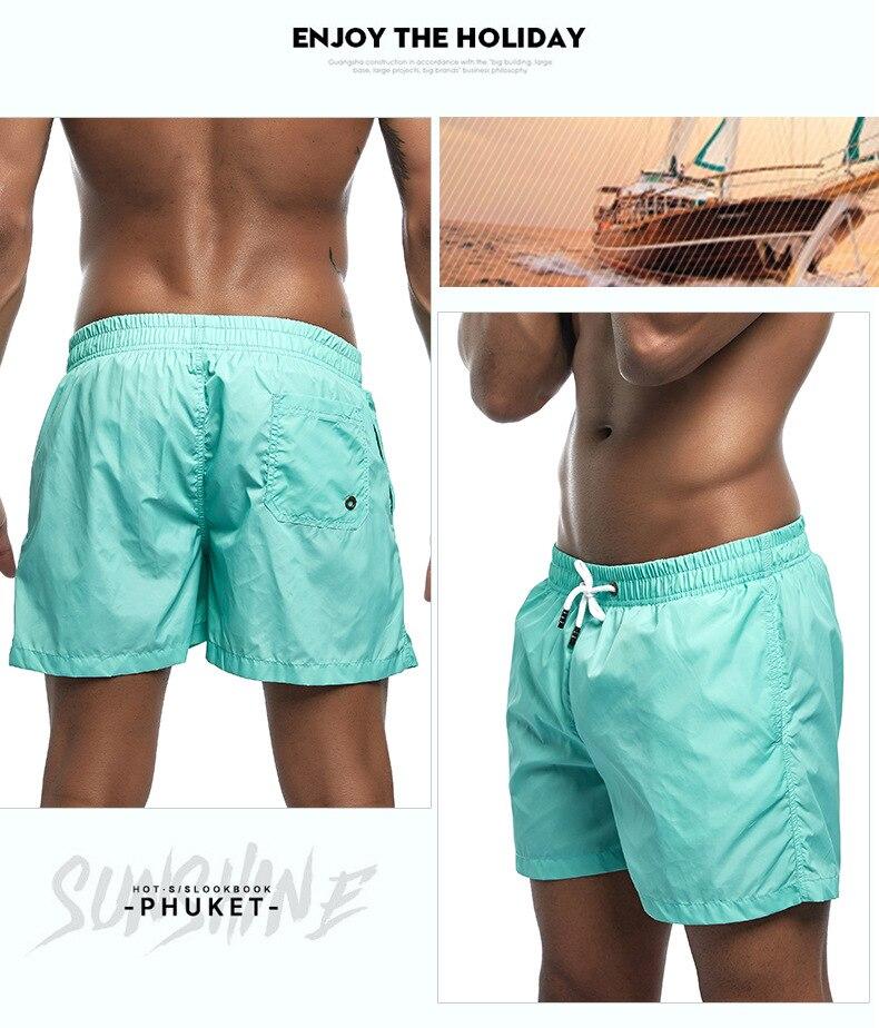 calções de surf homem boxers troncos bermuda
